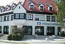 Volksbank Raiffeisenbank Dachau eG, Geschäftsstelle Petershausen, Bahnhofstraße 19, 85238 Petershausen